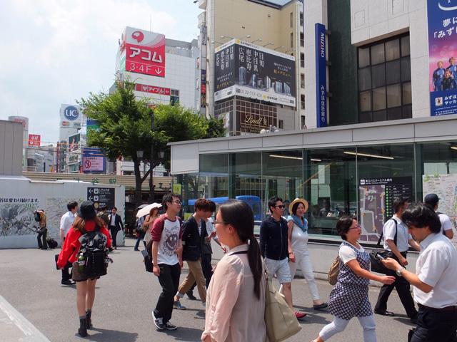 渋谷駅前・Mビル