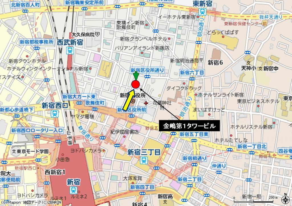 歌舞伎町 金嶋第1タワービル