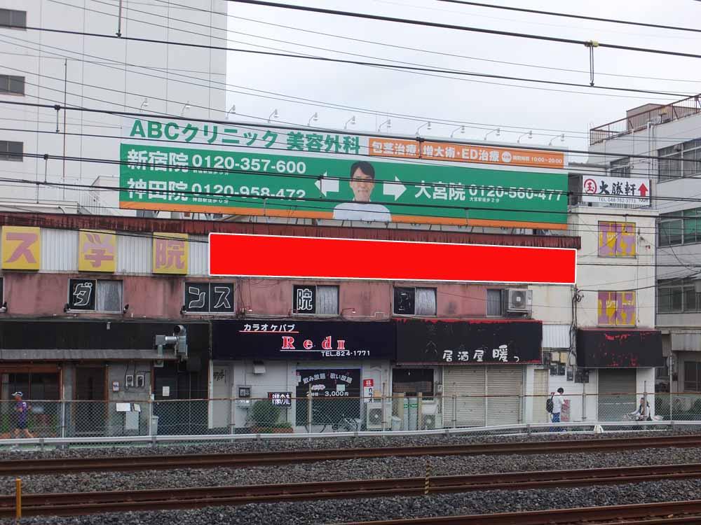 北浦和駅ホーム前 大澤ビル