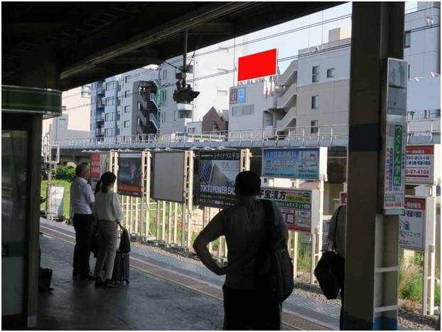亀戸駅ホーム前 S&Sビル