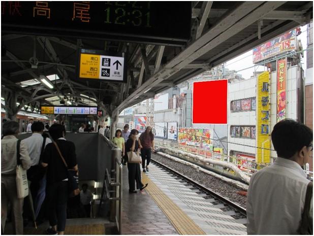 神田駅ホーム前 ソーシアルビル