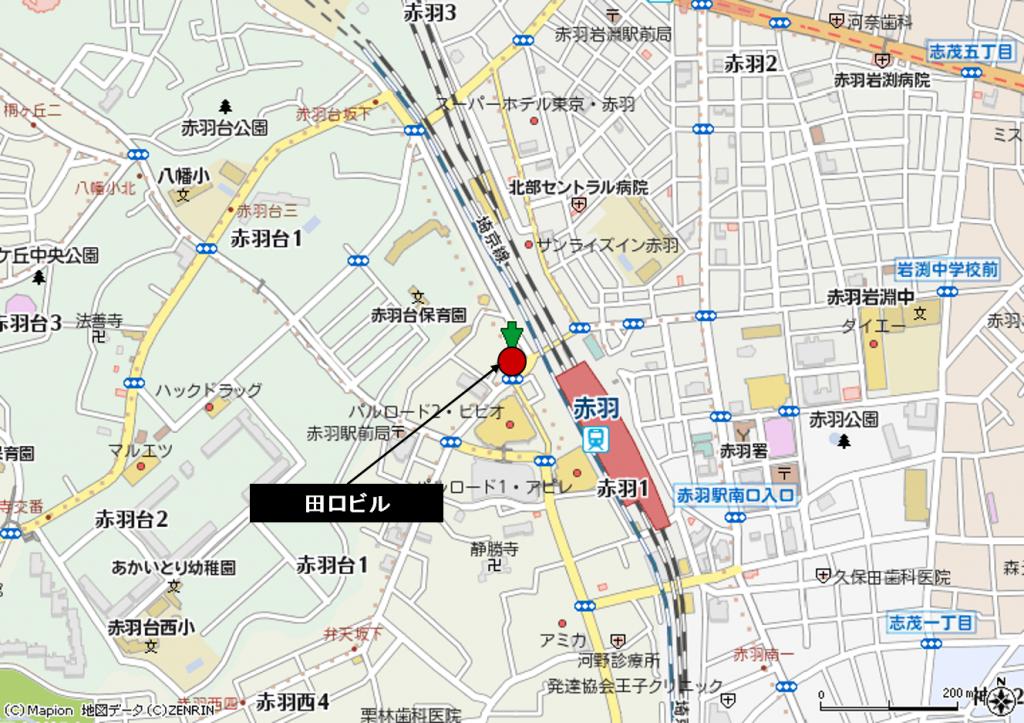 赤羽駅前 田口ビル