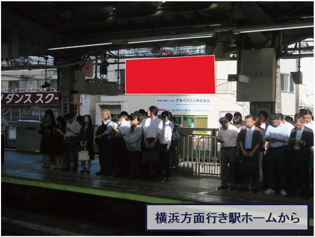 中目黒駅ホーム前 野尻ビル